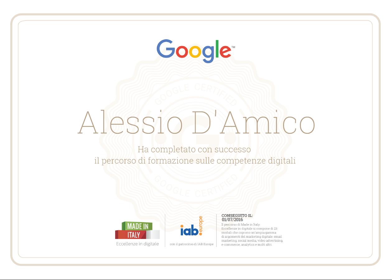 alessio_damico_certificazione_google_competenze_digitale